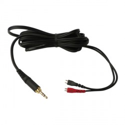 CABLE AURIC. HD 25 SP II/LIGHT ACERO 3,5 mm