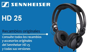 Repuestos Originales Sennheiser HD 25